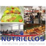 alimentação balanceada para empresas preço em Guararema