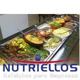 alimentação balanceada para empresas em Caieiras
