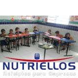 alimentação escolar e nutrição preço em Poá