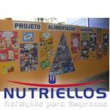 alimentação escolar infantil preço em Salesópolis