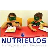 alimentação escolar na creche em Cotia