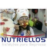 alimentação escolar na creches em Santana de Parnaíba
