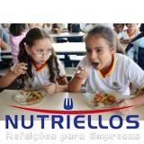 alimentação escolar terceirizada preço em Caierias