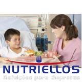 alimentação hospitalar em Taboão da Serra