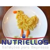 alimentação na escola de educação infantil em Caierias
