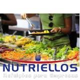 alimentação para empresa em Caieiras