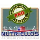 alimentação para escola preço em Guararema