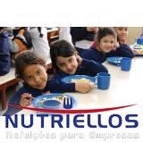 alimentação para escola terceirizada em Caierias