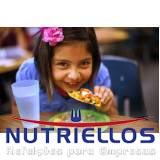 alimentação para escolas em São Caetano do Sul