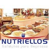 alimentação para indústria em Taboão da Serra