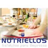 alimentação saudável para empresas preço em Guararema