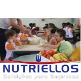 alimentação escolar infantil
