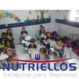 alimentações escolares para os alunos em Guarulhos