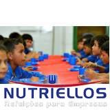 alimentações escolares terceirizadas em Arujá
