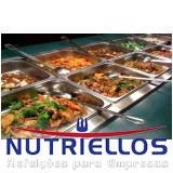 serviço de alimentação empresarial