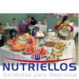 café da manhã de empresa Bairro Vila Tietê