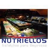fornecimento de alimentação para empresas em Embu