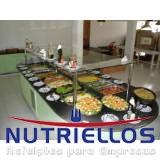 quanto custa alimentação em empresas Bairro Vila Tietê