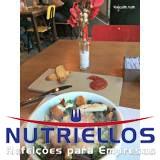 quanto custa fornecimento de alimentação para empresas em Santa Isabel