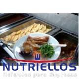 quanto custa refeição na indústria em Franco da Rocha