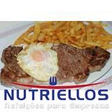 refeição coletiva na indústria em Santo André