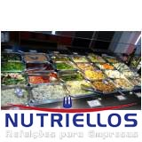 refeição completa para indústria preço em Guararema