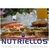 refeição corporativa completa em Santa Isabel