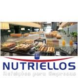 refeição em empresa grande em Caieiras