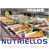 refeição em empresa para funcionários em Cotia