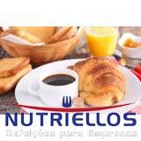 café da manhã empresas