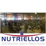 restaurante empresarial em fábrica em Embu das Artes
