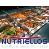 restaurante empresarial preço em Cajamar