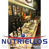 serviço de restaurante para indústria