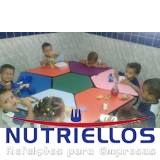 serviço de alimentação escolar e nutrição em Santo André