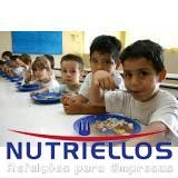 serviço de alimentação escolar terceirizada em Caierias