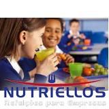 serviço de alimentação saudável para escola em São José dos Campos