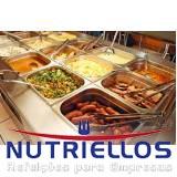 serviço de refeição corporativa para funcionário em Itaquaquecetuba