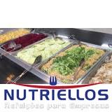 serviço de refeição corporativa para obra em Embu